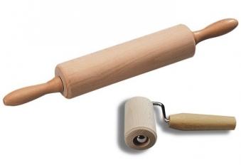 Teigrolle Set KESPER Holz 23 cm Bild 1