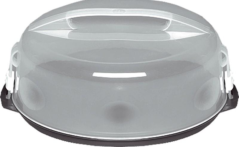 Tortenbehälter / Tortencontainer Griff und Deckel Ø 35 cm Bild 1