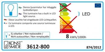 Konstsmide LED Lichterkette für außen 120 Micro LEDs bernstein Bild 2