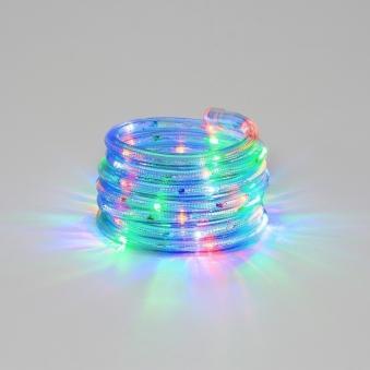 Lichtschlauch / LED Lichterschlauch Konstsmide Außentrafo 9m bunt Bild 1