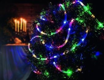 Lichtschlauch / LED Lichterschlauch Konstsmide Außentrafo 9m bunt Bild 2