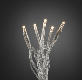 Weihnachtsbeleuchtung Konstsmide Micro LED Lichterkette 100LED weiß/tr Bild 1