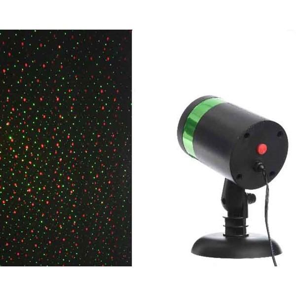 Kaemingk Laserprojektor Außen 4 Funktionen rot / grün Bild 1