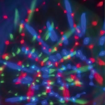 LED Projektor Kaleidoskop für Außen 12 V Bild 1