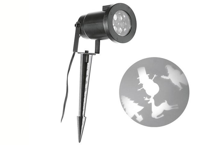 Projektor LED Mix warm-weiß 7 x 7 x 30 cm Bild 1