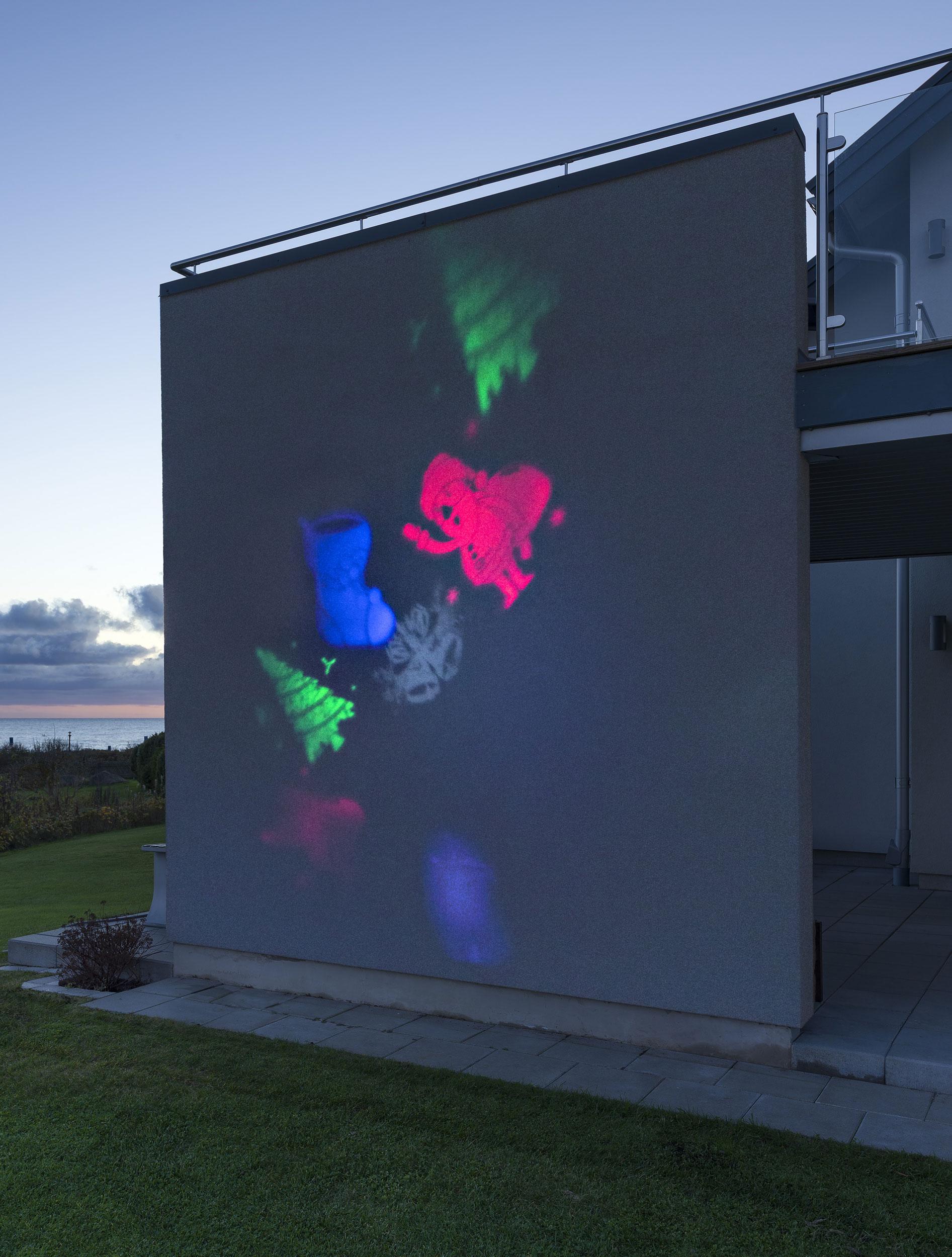 Weihnachtsbeleuchtung Aussen Ersatzbirnen.Weihnachtsbeleuchtung Konstsmide Led Lichtprojektor Weihnachtsfiguren