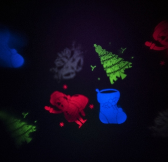 Weihnachtsbeleuchtung Konstsmide LED Lichtprojektor Weihnachtsfiguren Bild 2