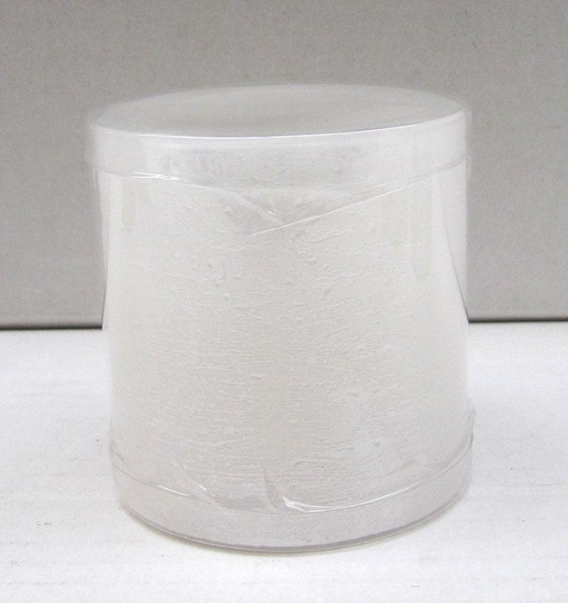 Kaemingk LED Kerze Naturoptik weiß Ø 7,5 x H 7,5cm Bild 1