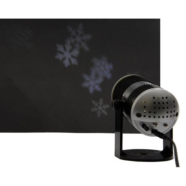 Kaemingk LED Projektor Schneeflocken Innen kaltweiß Bild 1