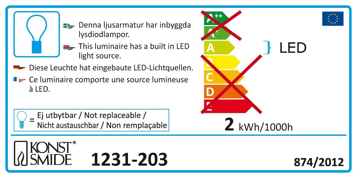 LED Lichterkette Perlen Konstsmide 32 LED innen kalt-weiß Bild 2