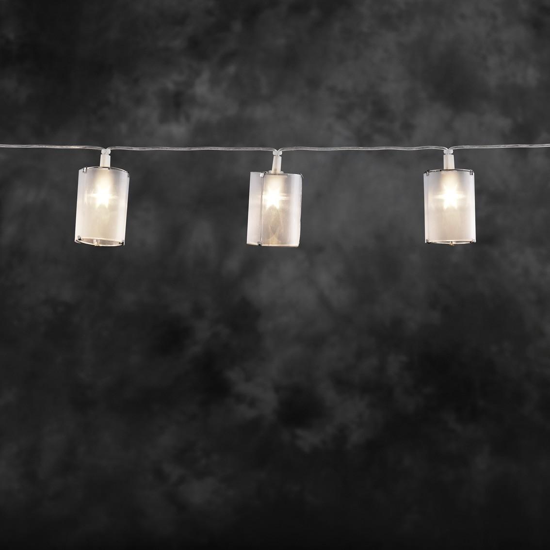 Lichterkette Zylinder Konstsmide 10LED mit Sternen Effekt Bild 1