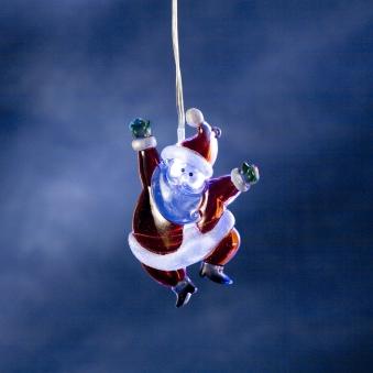 Weihnachtsbeleuchtung Konstsmide Acryl Weihnachtsmann LED batt. innen Bild 1