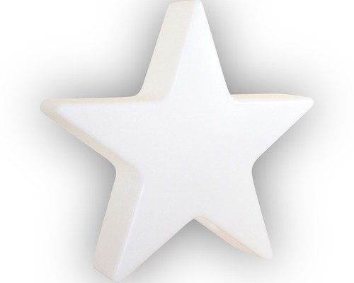 Weihnachtsbeleuchtung Stern Shining weiß 40 x 10 cm Bild 1