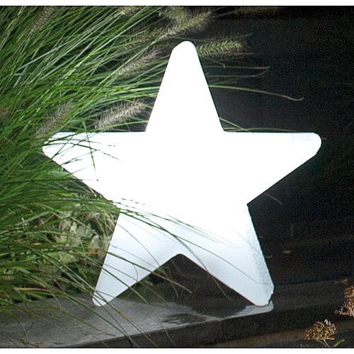 Weihnachtsbeleuchtung Stern Shining weiß 40 x 10 cm Bild 2