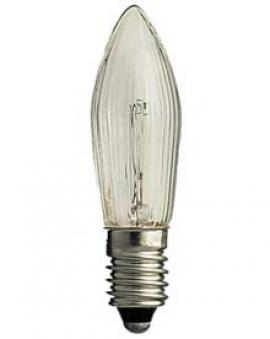 Ersatzbirnen für Leuchter und Lichterketten mit 7 Kerzen 34V 3W 3Stück Bild 1