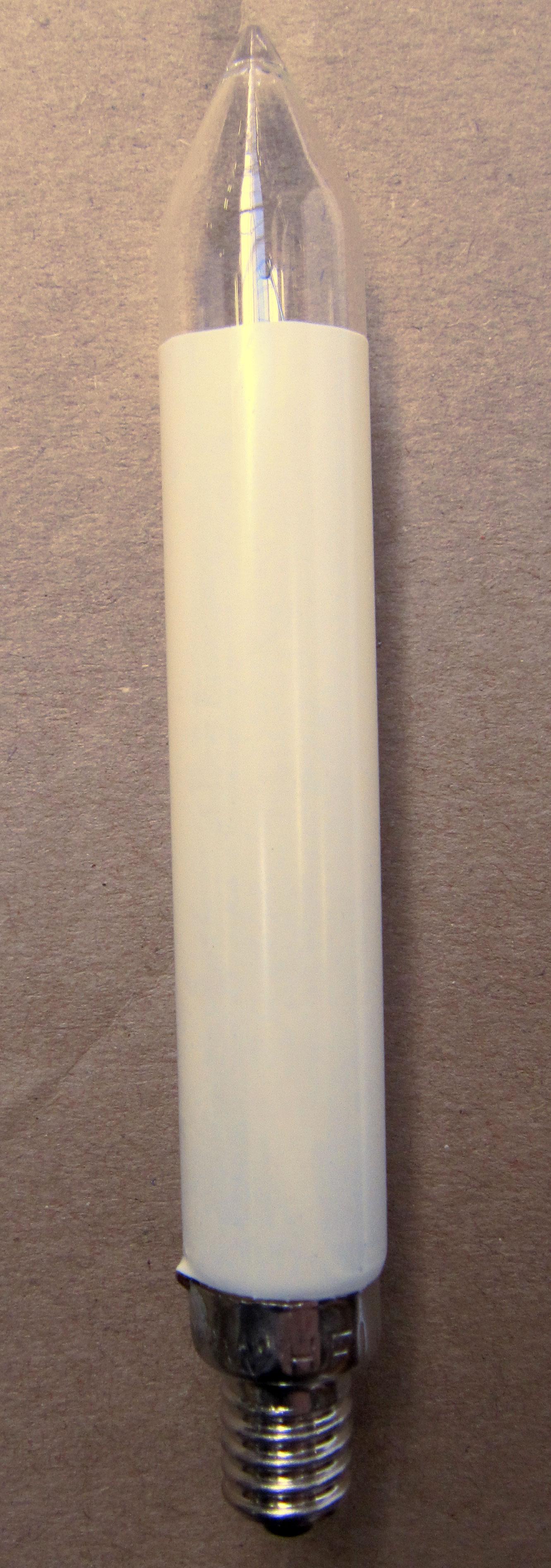 Ersatzlampen Schaftkerze elfenbein für 20 Brennstellen 12V 3W Bild 1
