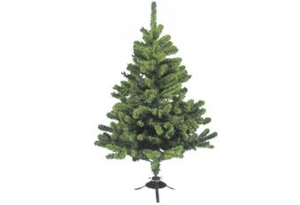 Künstlicher Weihnachtsbaum / Tannenbaum Deutsche Fichte mit Fuss 150cm Bild 1
