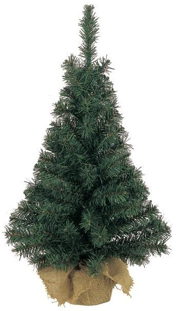 Weihnachtsbaum Künstlich / Mini Tannenbaum H 45 cm grün Bild 1