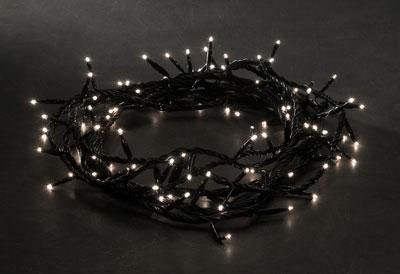 weihnachtsbeleuchtung led microlight lichterkette 100 klar. Black Bedroom Furniture Sets. Home Design Ideas